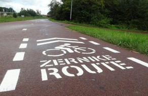 Smart cycling route to Zernike campus