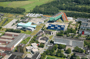 Zernike campus aerial view (©UG, photo: Aerophoto Eelde)